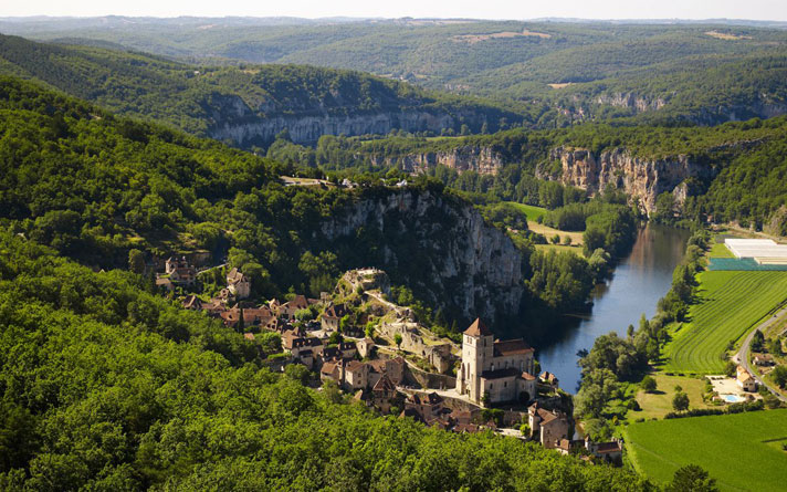 Rocamadour and its surroundings